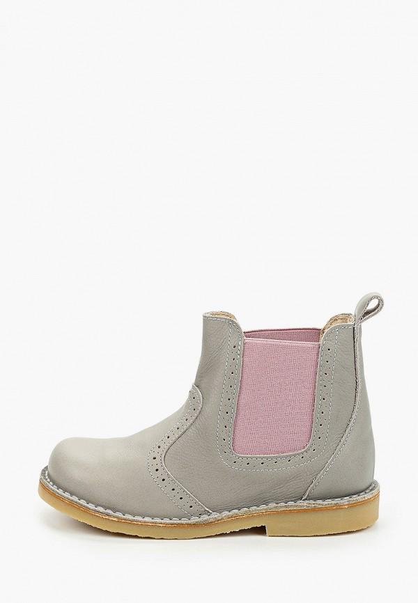 ботинки barritos для девочки, серые