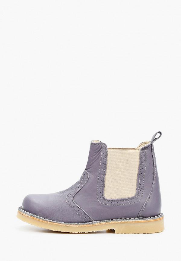 ботинки barritos для девочки, фиолетовые
