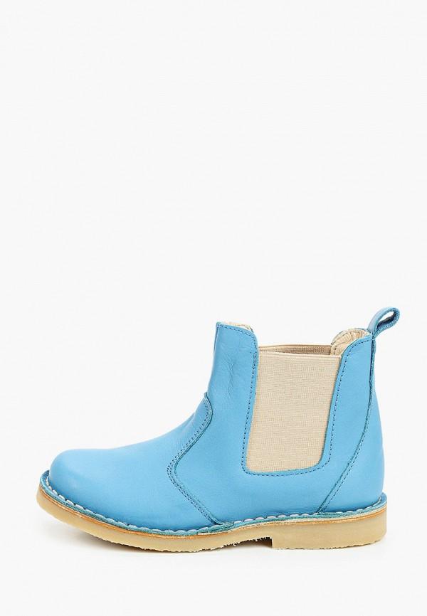 ботинки barritos для мальчика, голубые