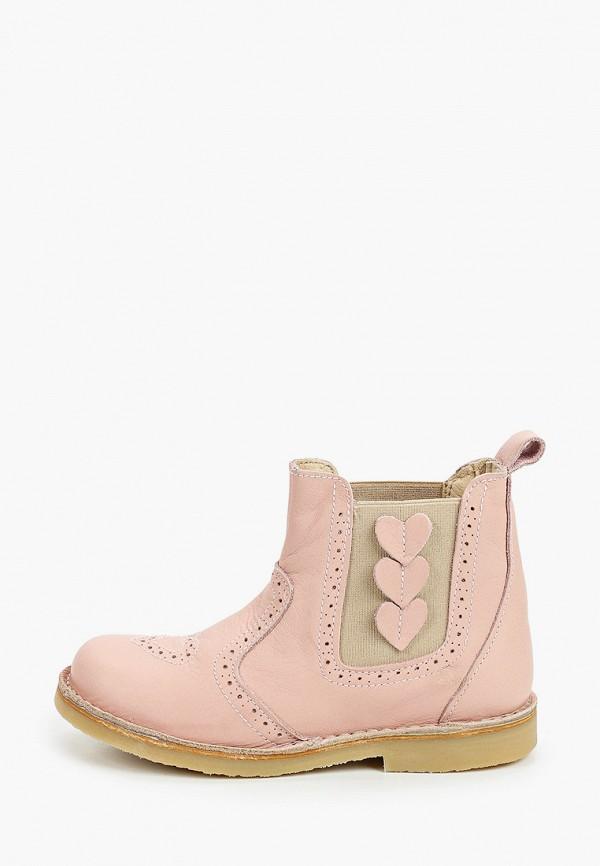 ботинки barritos для девочки, розовые