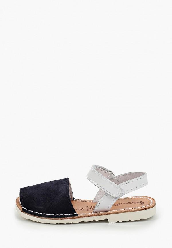 сандалии barritos для девочки, разноцветные
