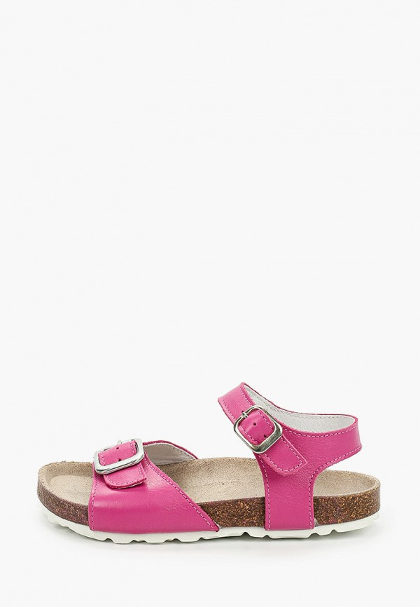 сандалии barritos для девочки, розовые