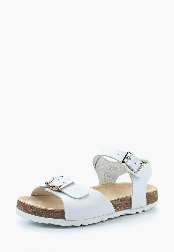сандалии barritos для девочки, белые