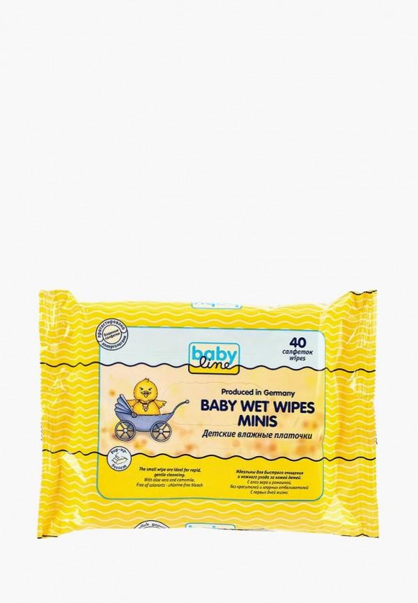 Влажные салфетки Babyline Babyline BA066LKNWE86 салфетки babyline влажные салфетки комфорт sensitive 80 шт