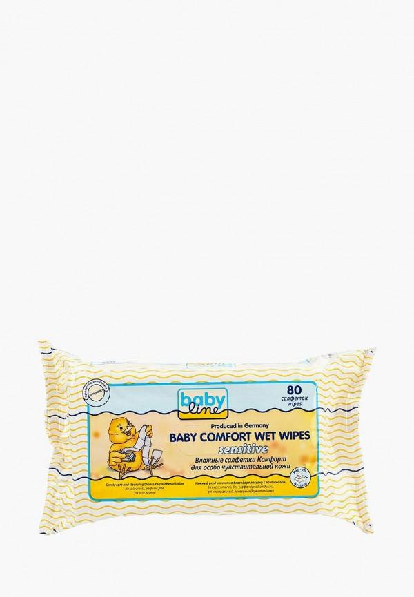Влажные салфетки Babyline Babyline BA066LKNWE88 салфетки babyline влажные салфетки комфорт sensitive 80 шт