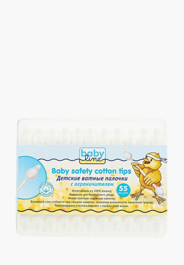 Ватные палочки Babyline Babyline BA066LKNWE89 babyline baby safety cotton tips ватные палочки детские ультратонкие 200 шт