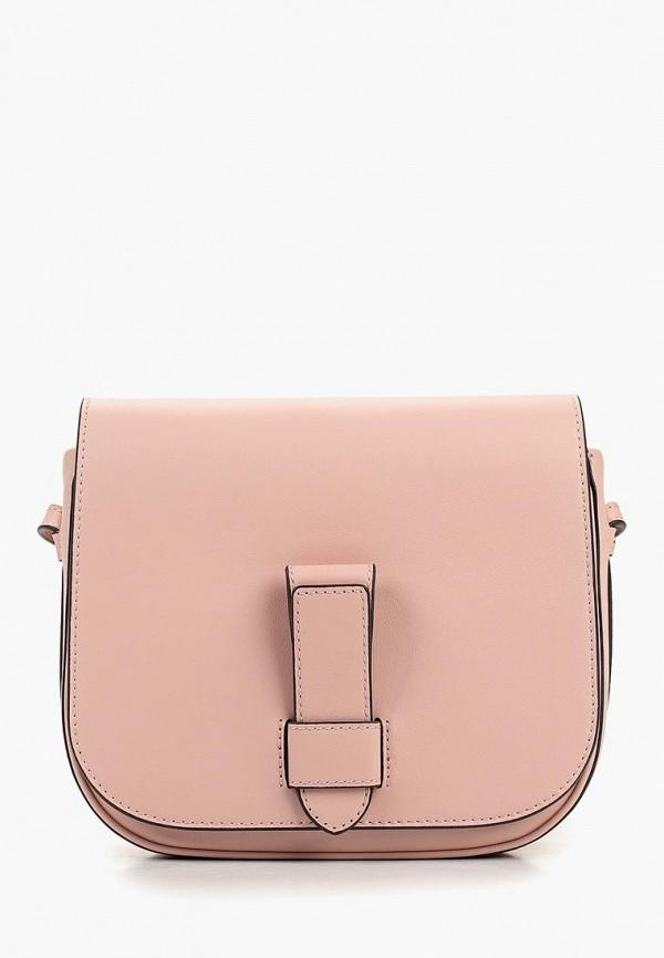 женская сумка banana republic, розовая