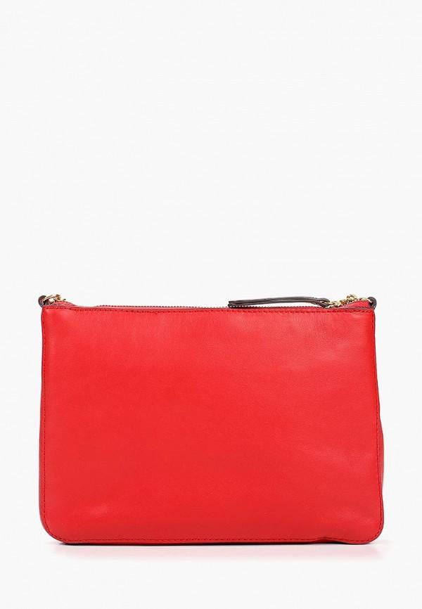 женская сумка banana republic, красная