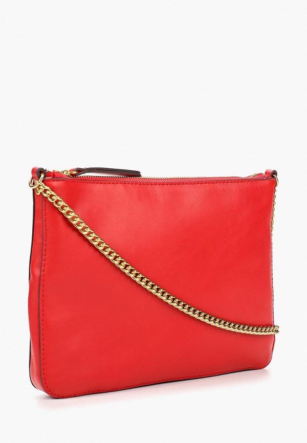 Фото 2 - женскую сумку Banana Republic красного цвета