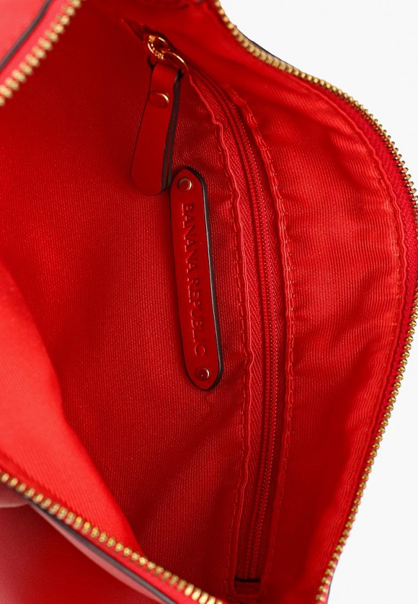 Фото 3 - женскую сумку Banana Republic красного цвета