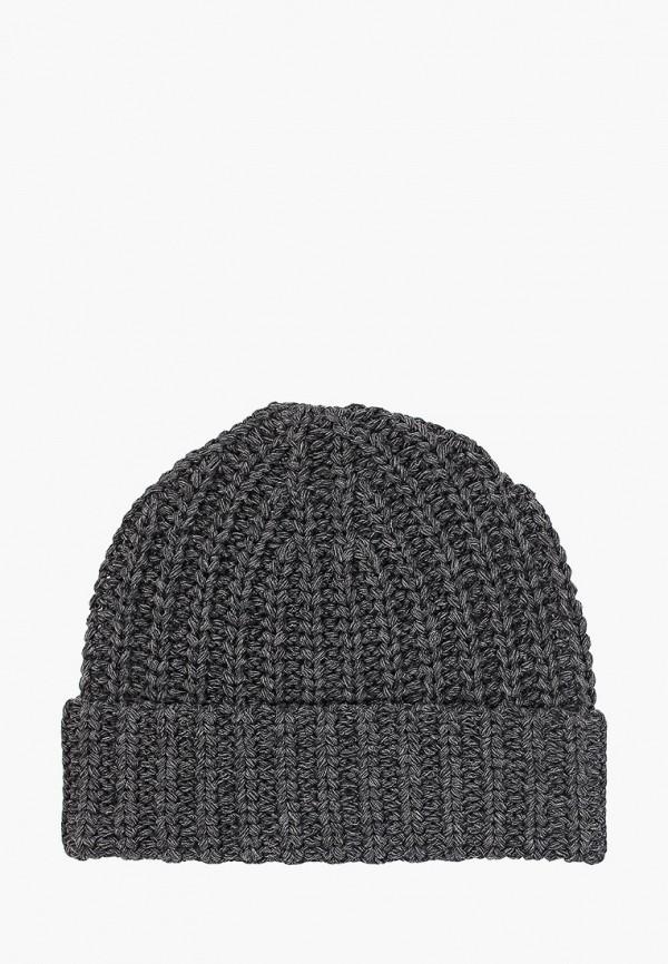 Фото 2 - мужскую шапку Banana Republic серого цвета