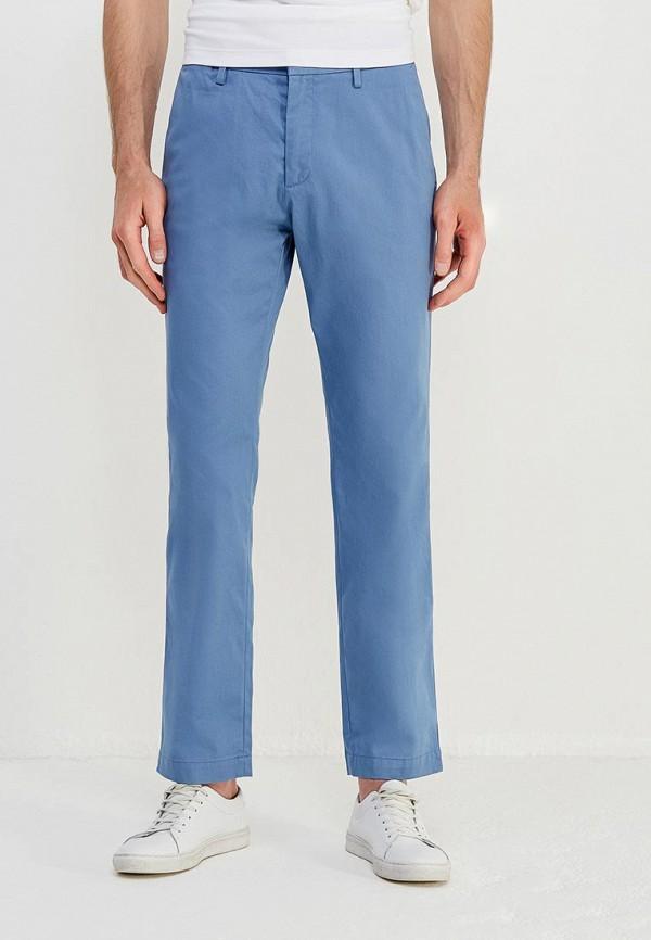 мужские брюки чинос banana republic, голубые