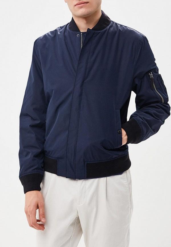 Фото 2 - Куртку утепленная Banana Republic синего цвета