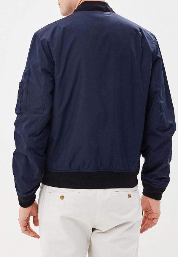 Фото 4 - Куртку утепленная Banana Republic синего цвета
