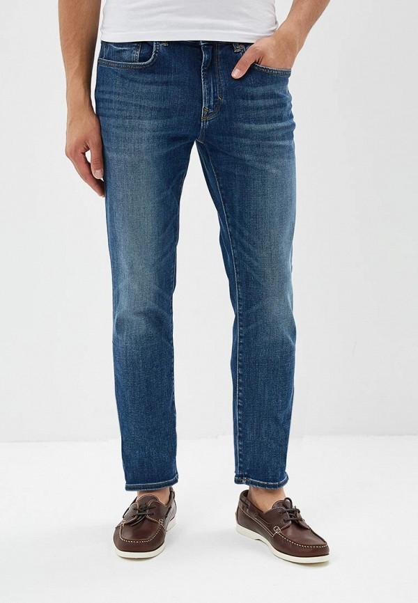 мужские прямые джинсы banana republic, синие
