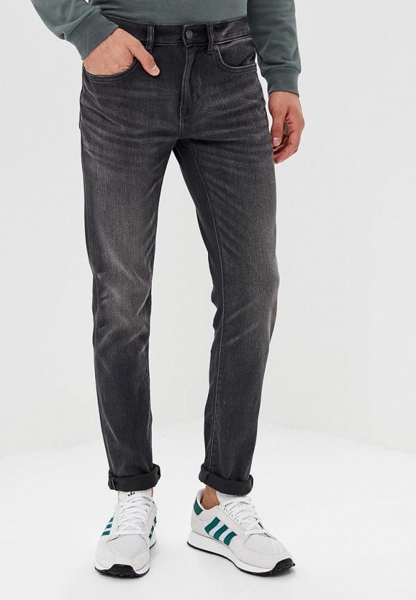 мужские зауженные джинсы banana republic, серые