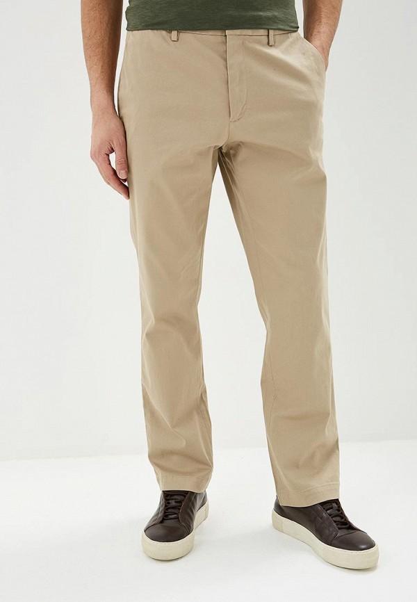 мужские повседневные брюки banana republic, бежевые