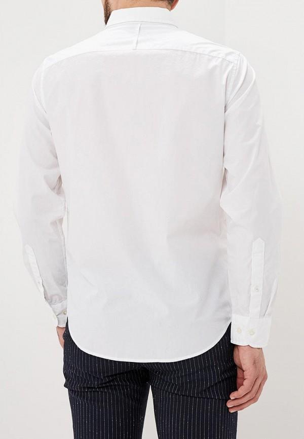 Фото 3 - мужскую рубашку Banana Republic белого цвета