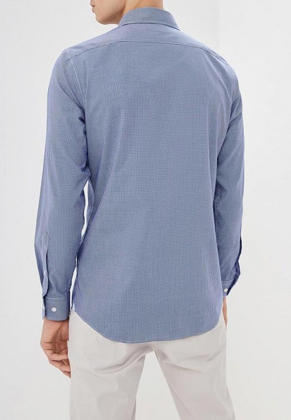 Фото 3 - мужскую рубашку Banana Republic синего цвета