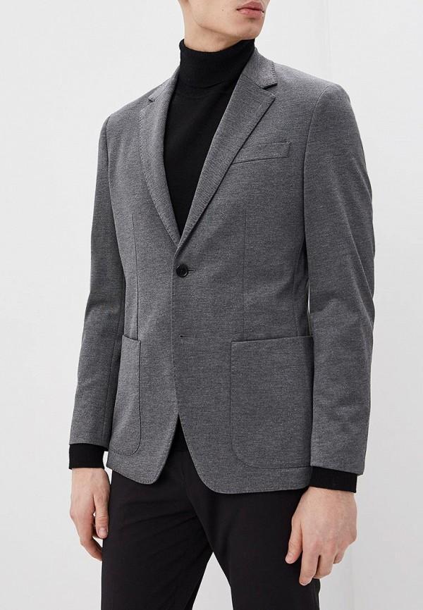 мужской пиджак banana republic, серый
