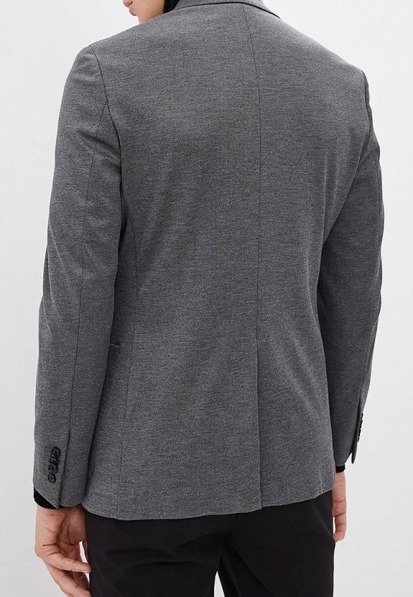 Фото 3 - мужской пиджак Banana Republic серого цвета
