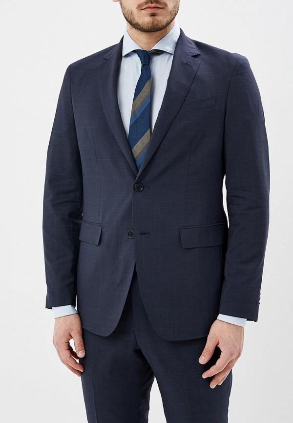 мужской пиджак banana republic, синий