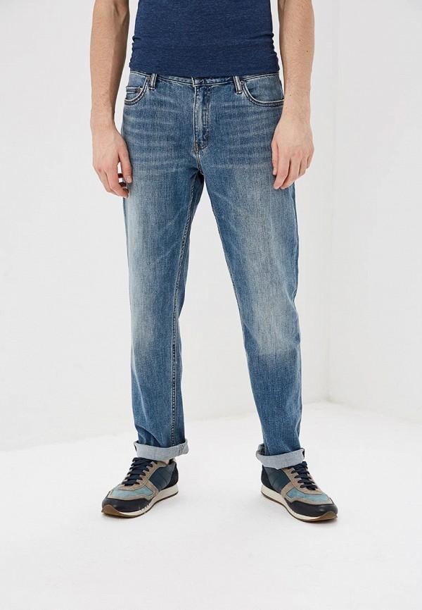 мужские прямые джинсы banana republic, голубые