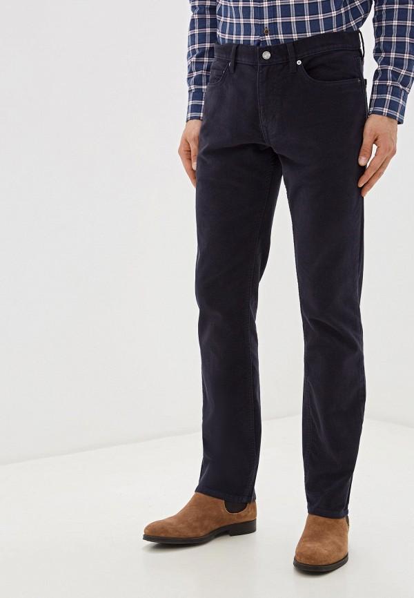 мужские прямые брюки banana republic, синие