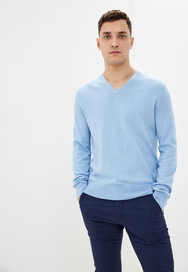 мужской пуловер banana republic, голубой