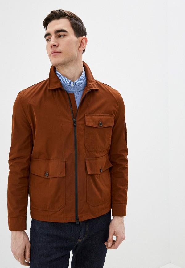 мужская куртка banana republic, коричневая