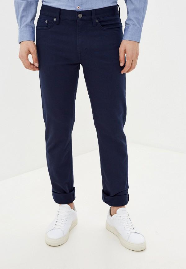 мужские повседневные брюки banana republic, синие