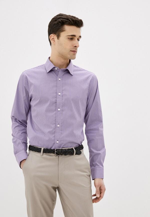 мужская рубашка с длинным рукавом banana republic, фиолетовая