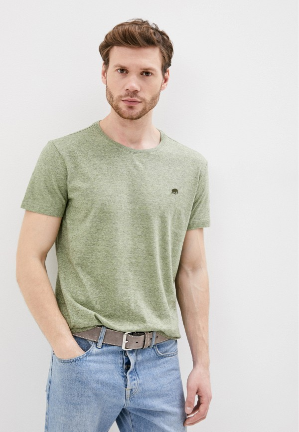 мужская футболка с коротким рукавом banana republic, зеленая