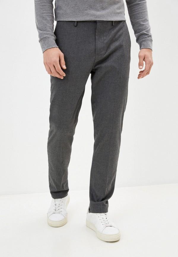 мужские классические брюки banana republic, серые