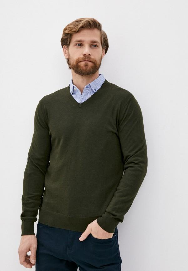 мужской пуловер banana republic, хаки