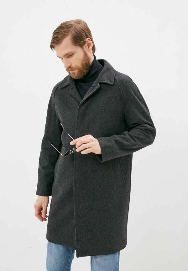 мужское пальто banana republic, серое