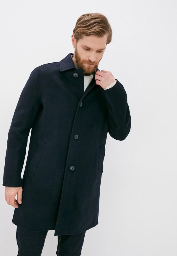 мужское пальто banana republic, синее