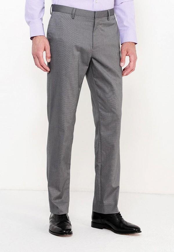 мужские прямые брюки banana republic, серые