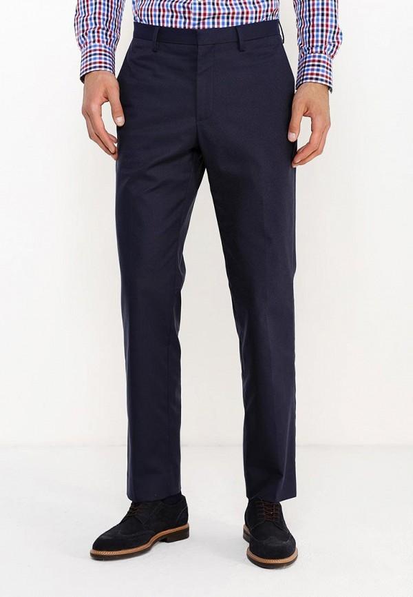 мужские классические брюки banana republic, синие