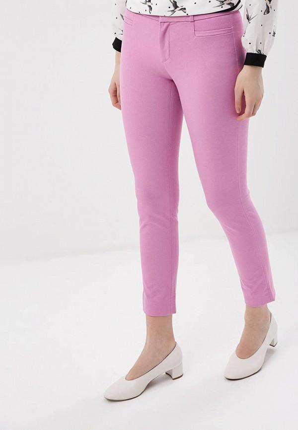 женские зауженные брюки banana republic, розовые