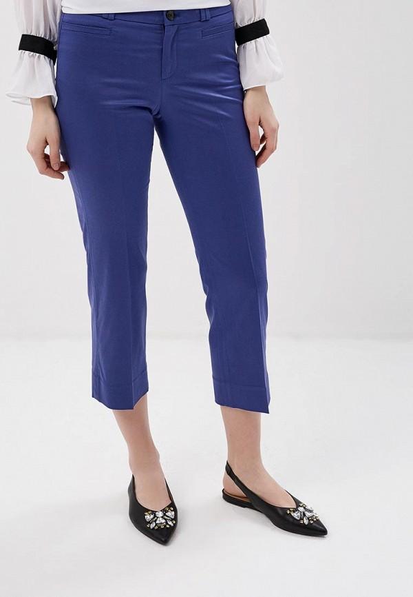 женские прямые брюки banana republic, синие