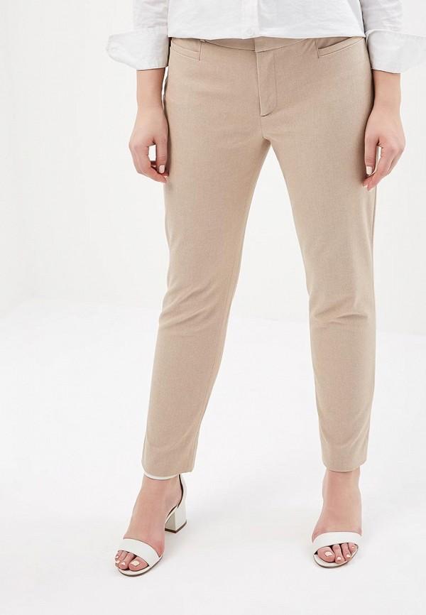 женские зауженные брюки banana republic, бежевые