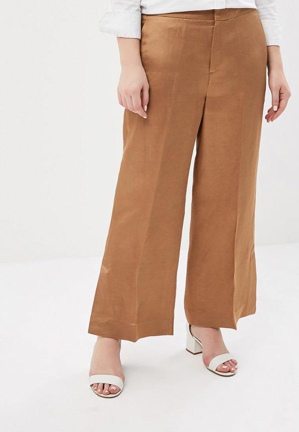 женские брюки клеш banana republic, коричневые