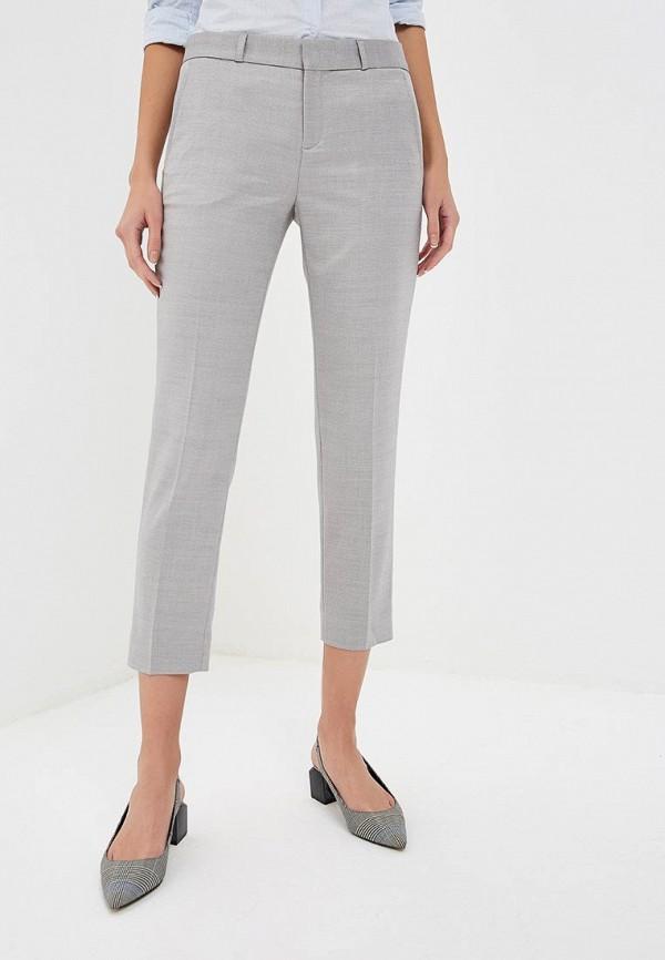 женские повседневные брюки banana republic, серые