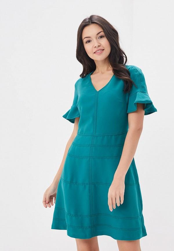 женское повседневные платье banana republic, зеленое