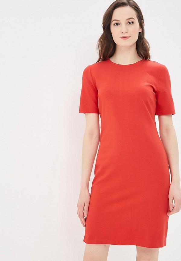 женское платье banana republic, красное