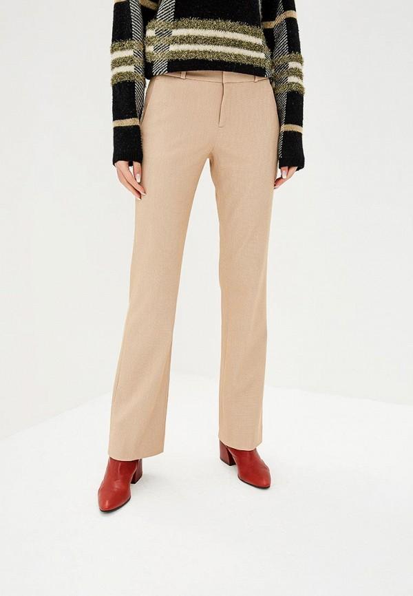 женские классические брюки banana republic, бежевые
