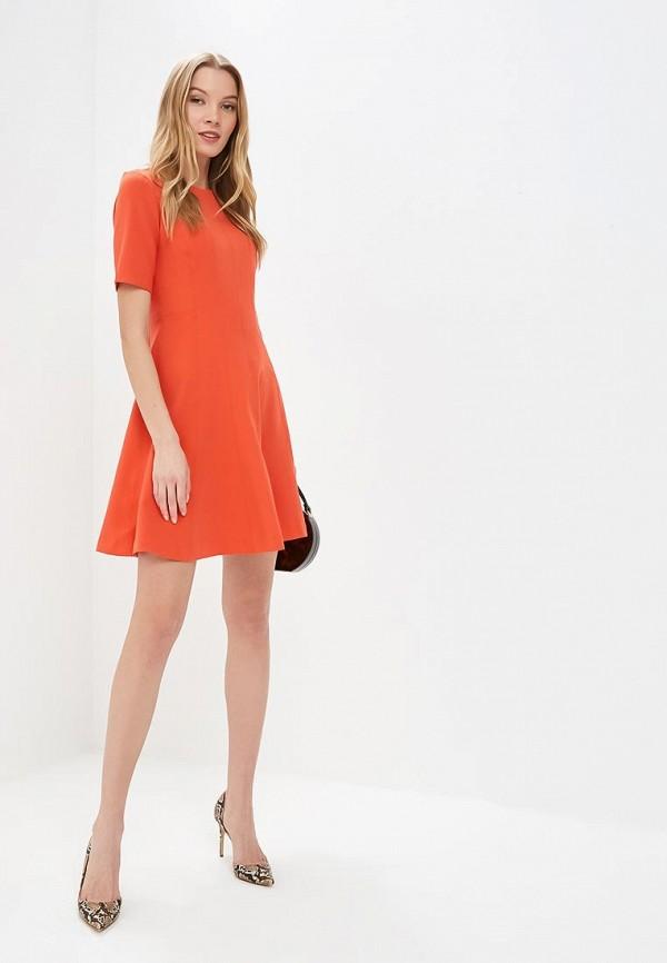 Фото 2 - женское платье Banana Republic оранжевого цвета