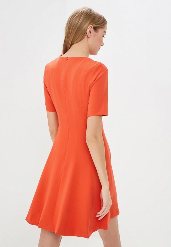 Фото 3 - женское платье Banana Republic оранжевого цвета