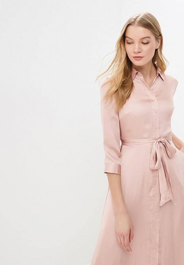 Фото 2 - женское платье Banana Republic розового цвета